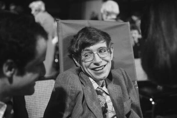 PRINCETON, NJ - OCTOBER 10:  Cosmologist Stephen Hawking on October 10, 1979 in Princeton, New Jersey. (Photo by Santi Visalli/Getty Images)