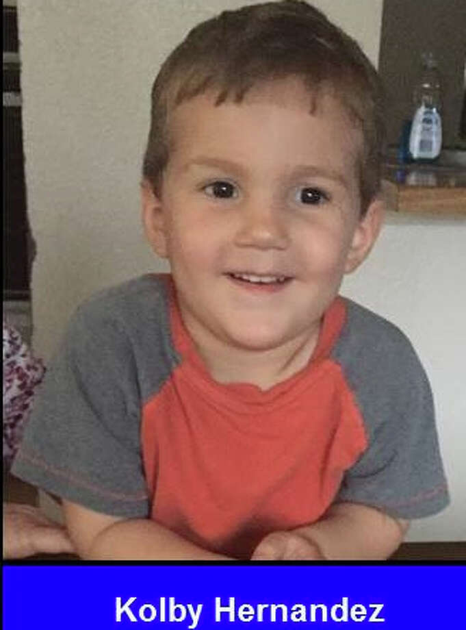 The San Antonio Police Department is searching for Kinsley Hernandez and Kolby Hernandez. Police are looking for Leslie Hernandez in connection with their abduction. The suspect is driving a silver 2010 Chevy Suburban with the Texas plate: JGG2909 Photo: Courtesy Missingkids.com