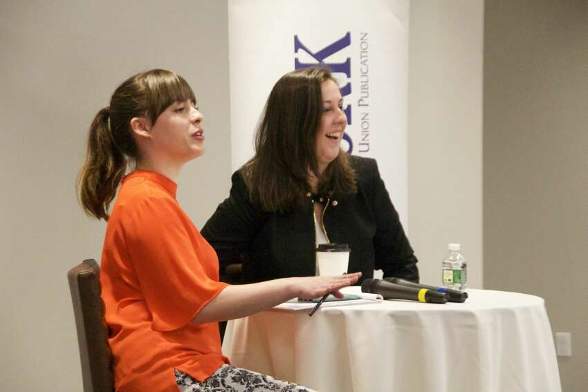 Were you seen at the Women@Work Changemaker Breakfast with Colleen Costello, Co-Founder of Troy-based Vital Vio, on March 14 at the Hearst Media Center? Not a member of Women@Work? Join today at www.womenatworkny.com/checkout/