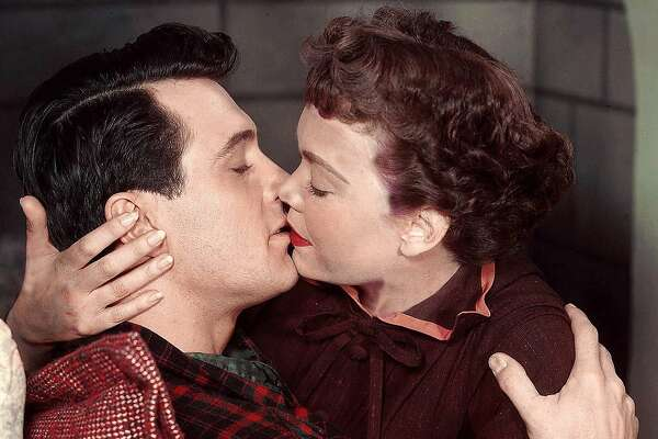 "Rock Hudson and Jane Wyman in Douglas Sirk's ""All That Heaven Allows"" (1955)"