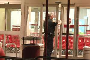 The Target on Highway 290 near Tidwell was robbed Thursday morning, March 15, 2018.