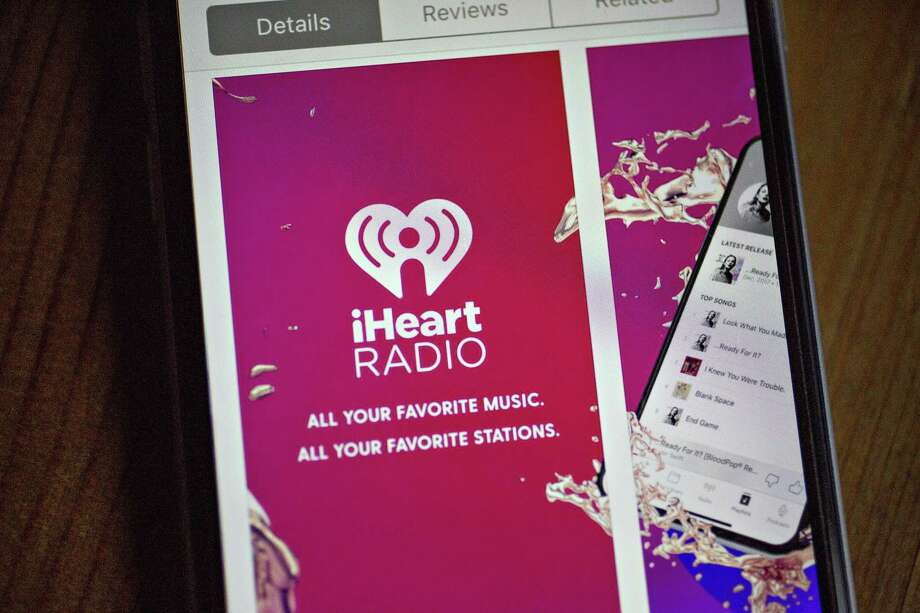 The iHeartMedia Inc. application is seen in the App Store on an Apple Inc. iPhone in Washington, D.C., U.S., on Thursday, March 1, 2018. Embattled iHeartMedia is circulating documents for a bankruptcy filing that could come as soon as this weekend for the biggest U.S. radio broadcaster. Photographer: Andrew Harrer/Bloomberg Photo: Andrew Harrer / Bloomberg / 2018 Bloomberg Finance LP