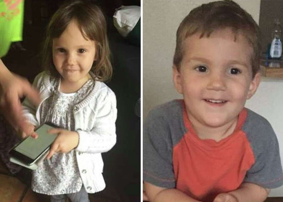 Kinsley and Kolby Hernandez were reported missing March 14, 2018, according to an alert from the National Center for Missing and Exploited Children. Photo: Courtesy, Missingkids.com