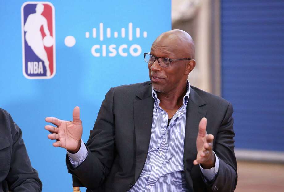 AUSTIN, TX - MARCH 09:  NBA hall of famer, Clyde Drexler during a Facebook Live session at SXSW held at Austin Recreation Center on March 9, 2018 in Austin, Texas. Photo: Jesse Grant, Getty Images For Cisco Systems, / 2018 Getty Images