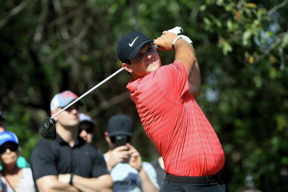 PALM HARBOR, FL - MARCH 11:  Patrick Reed plays his shot from the 11th tee during the final round of the Valspar Championship at Innisbrook Resort Copperhead Course on March 11, 2018 in Palm Harbor, Florida.