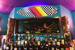 Closed for renovations after a fire in Sept. 2016, Voodoo Queen Daiquiri Dive made its return on Wednesday evening for thirsty East Downtown residents. Previously-known simply as Voodoo Queen, owner Brandon Young's tiki-themed bar became a neighborhood hit for its strong boat drinks and a dark and dive-y attitude when it opened in 2013. It's now reopened with an expanded drink and food menu, extra seating inside and out, and bright paint courtesy of Houston street artist Dual.