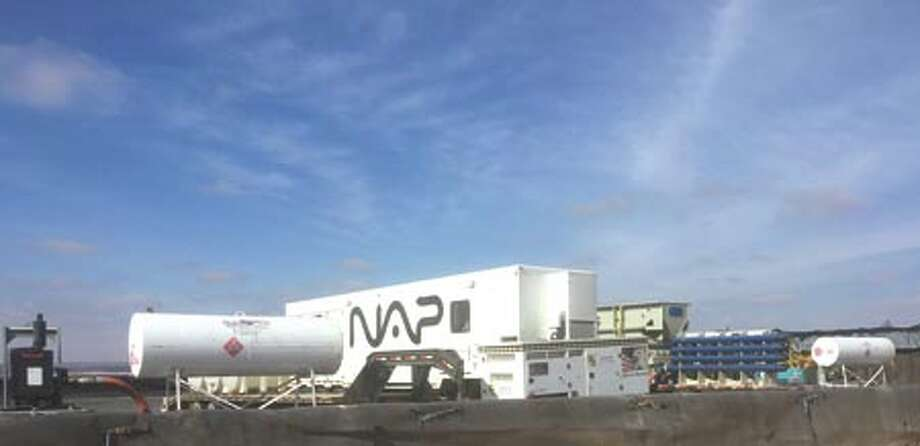Big D has partnered with NAP Industries to bring their clients a  cost-effective, innovative and environmentally friendly system for  treating produced and flowback water. To learn more, call Gary Moore at  432-438-7486 or email him at gary.moore@bigdco.com. Photo: Courtesy