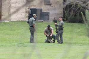 A man is in custody after a four-hour standoff with San Antonio police in the 3900 block of Thousand Oaks Drive.