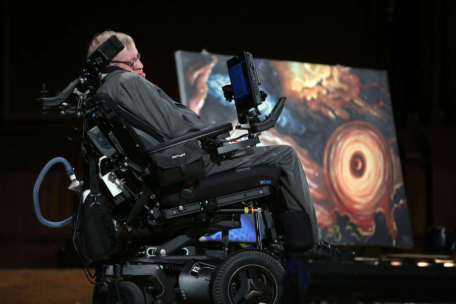 Hawking's fame raised the visibility of speech-generating technologies, helping them seem more commonplace than weird, maybe even cool. Photo: Pat Greenhouse / The Boston Globe / Getty Images