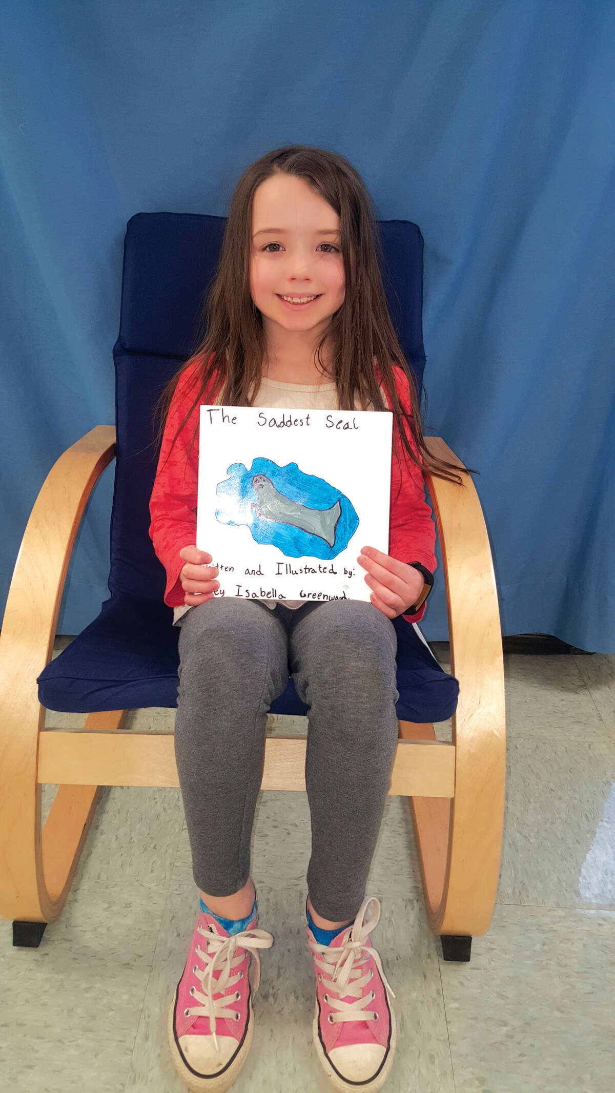 Midway Elementary School recently announced its top Young Authors competition entries. Pictured is Zoey Greenwood who wrote