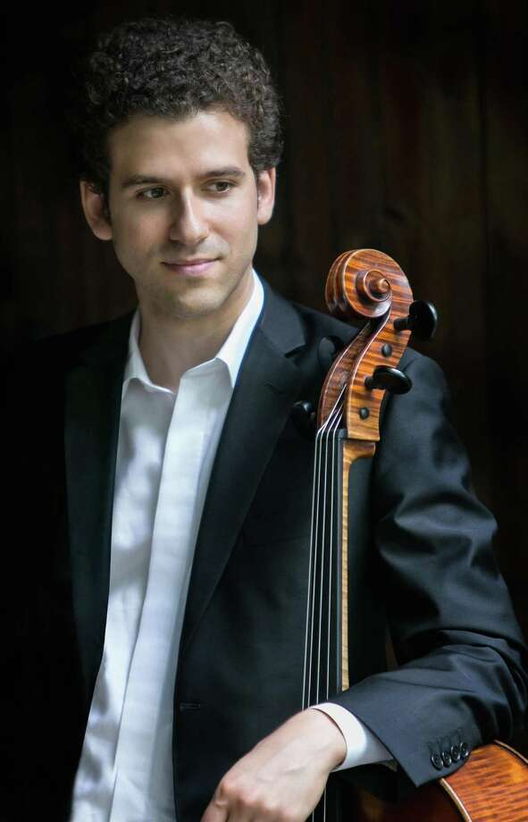 Nick Canellakis will be the soloist on cello. Photo: NHSO / Contributed Photo