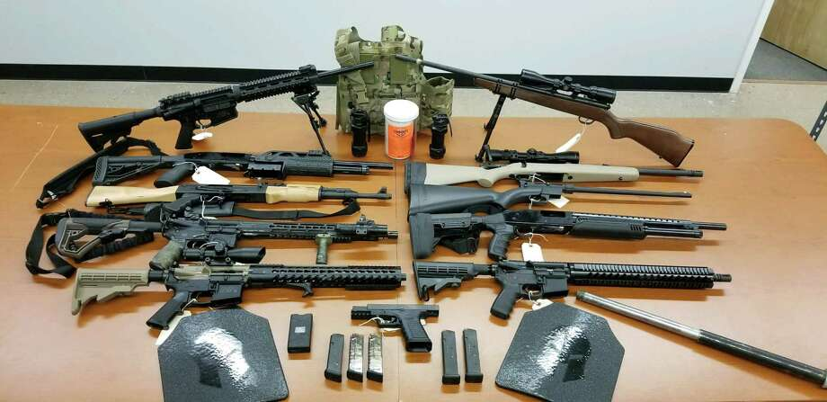 Voorheesville Weapons Photo: Albany County Sheriff