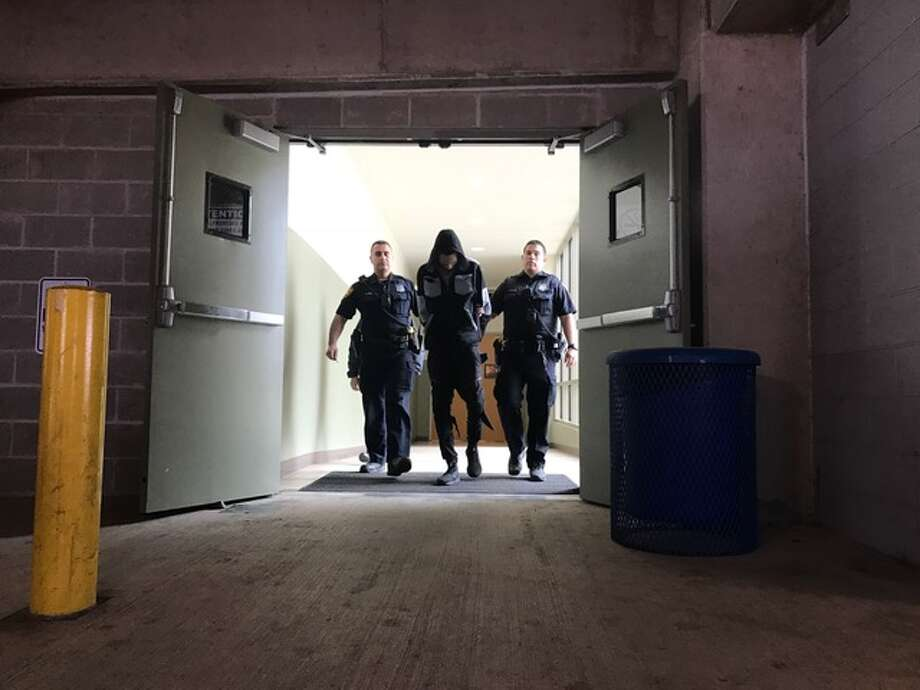 Joseph Alvarado, 24, was one of two people arrested Thursday on capital murder charges in connection to a shooting death earlier this month. Photo: Kelsey Bradshaw