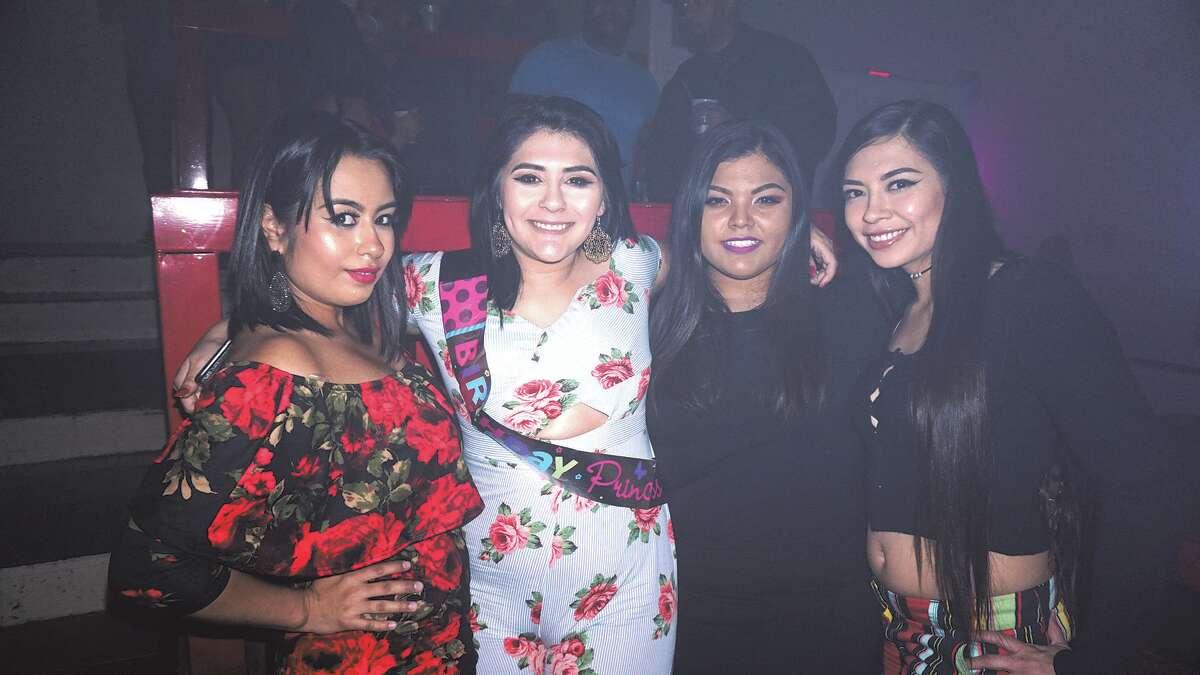 Dori Garza, Janet Vega, Kassandra Muniz and Alexandra Perez at Club Vibe Friday, March 16, 2018