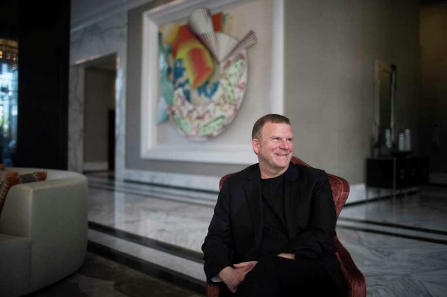 Landry's Inc. CEO Tilman Fertitta sits in the lobby of his new 250-room hotel The Post Oak Hotel. Wednesday, March 14, 2018, in Houston. >> Click through the gallery to see all of the things that Fertitta owns. Photo: Marie D. De Jesus, Houston Chronicle / © 2018 Houston Chronicle