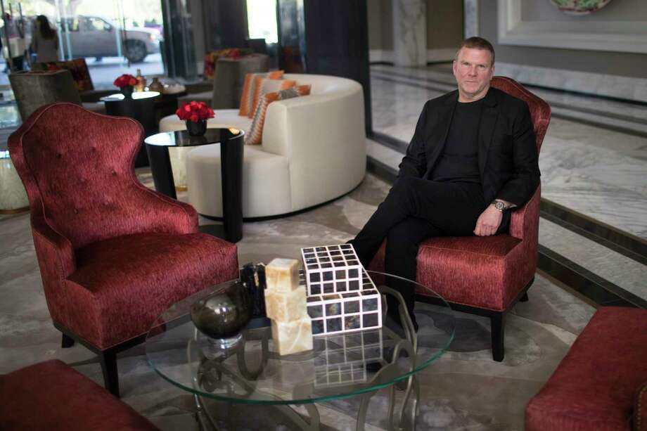 Fertitta was heavily involved in even the interior design of the hotel, selecting fabric choices and signing off on carpet design.  Photo: Marie D. De Jesus, Houston Chronicle / © 2018 Houston Chronicle