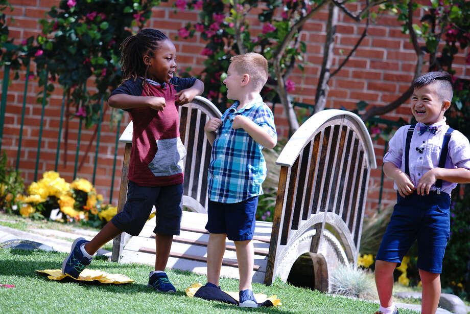 """THE SECRET LIFE OF KIDS -- """"Love and Rejection"""" Episode 102 -- Pictured: (l-r) Zakai Young, Aiden Liberio, Quinton Lange -- (Photo by: Joseph Viles/USA Network) Photo: Credit: Joseph Viles/USA Network / 2017 USA Network Media, LLC. Credit: Joseph Viles/USA Network"""