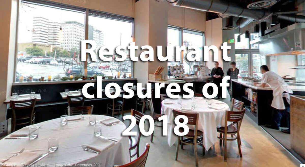 Here are the restaurants that have closed so far in 2018. A moment of silence.