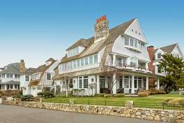 The $4.8 million home at 13 Crescent Beach Road in Norwalk was built by well-known local architect Roger Bartels.