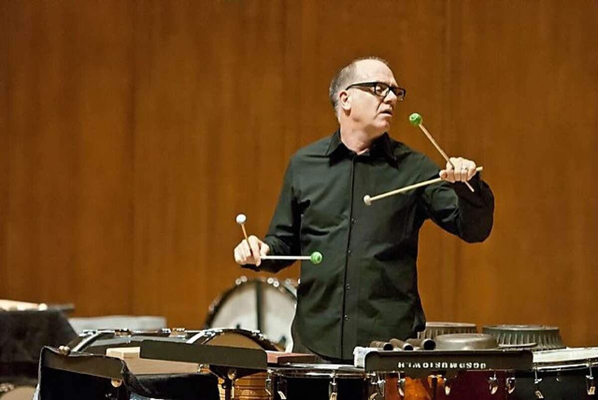 Percussionist Steven Schick, Hertz Hall, UC Berkeley, 6/19/15