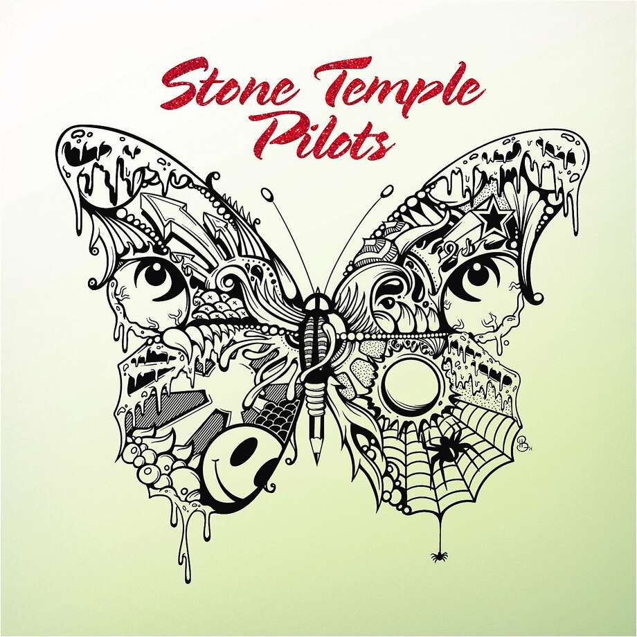 The cover of the Stone Temple Pilots' new, self-titled album. Photo: Rhino, AP