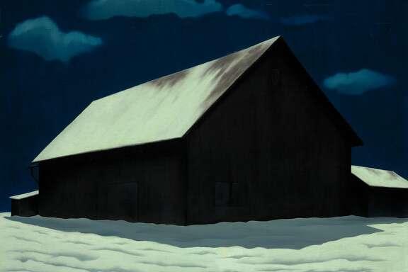 "George Copeland Ault, ""January Full Moon"" (1941)"