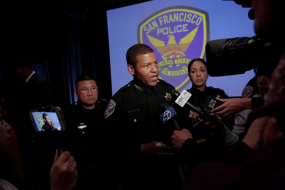 Bill Scott, an outsider from Los Angeles, was selected as police chief over the police union's pick. Photo: Michael Macor, The Chronicle