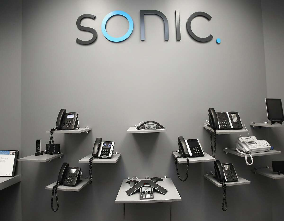 The enterprise sales room at Sonic, a local internet service provider, on Monday, March 13, 2018, in Santa Rosa, Calif.