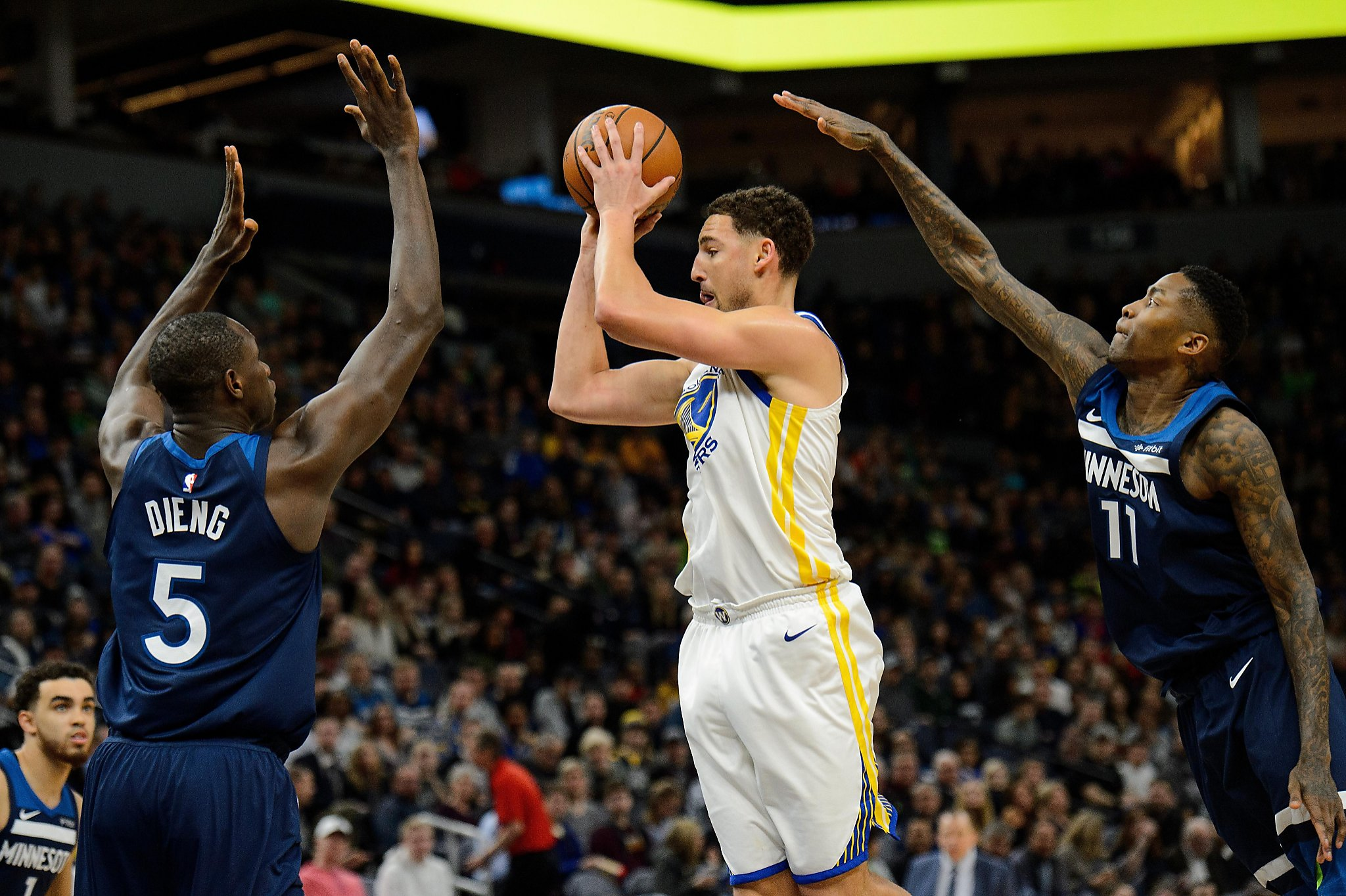 0af11a5202ee Warriors game day  How will Klay Thompson look in return vs. Kings  - SFGate