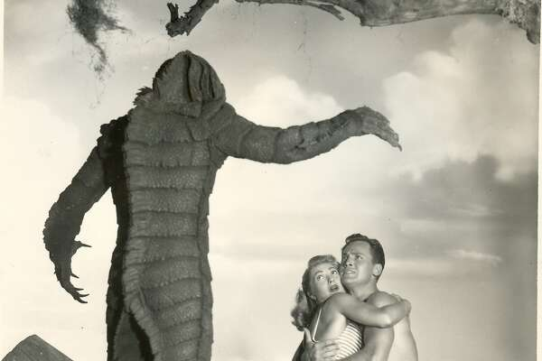 "After the Giants play the Brewers on Saturday, ""The Creature From the Black Lagoon"" will be shown on on the jumbo ballpark screen during the second annual Creature Feature Night at AT&T Park. Bring a blanket and watch from the outfield."