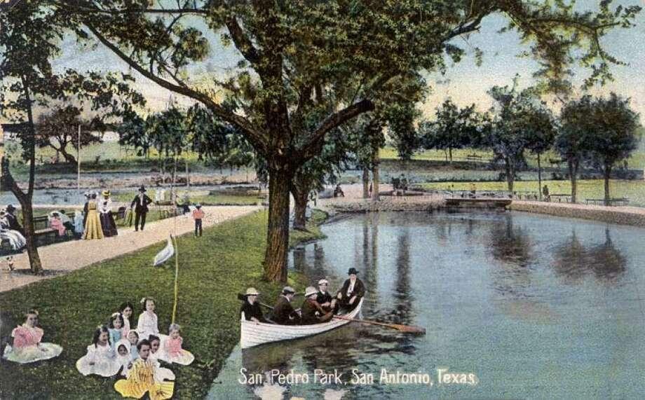 San Pedro Park, circa 1908. Photo: Courtesy Edwardsaquifer.net