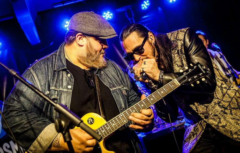 Chicago blues guitarist Nick Moss and his Nick Moss Band featuring New Jersey blues harp player Dennis Gruenling are headed to Hartford. Photo: Sven Erik Hagen / Courtesy Of Stewart Entertainment