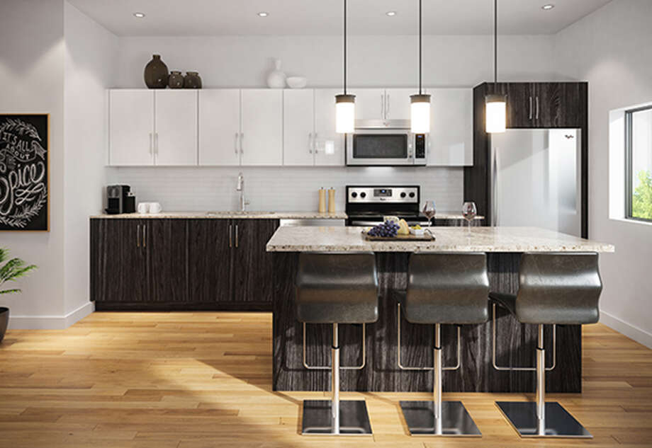 Stylish kitchen designs are included at the Museum BLVD.