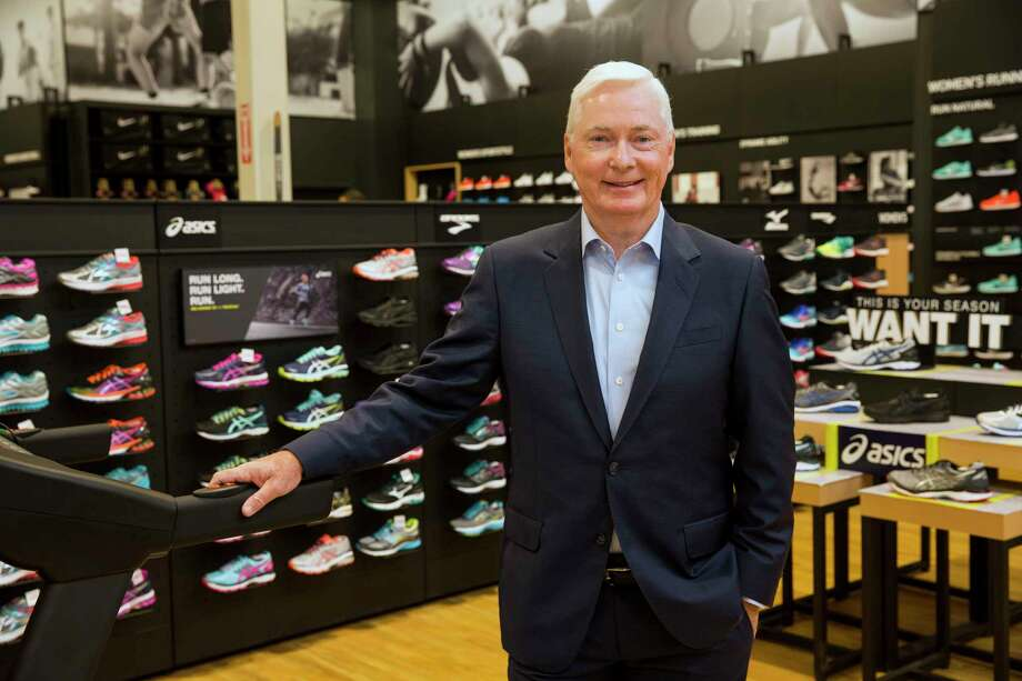 In this Oct. 18, 2016, photo, Chairman and CEO of DICK'S Sporting Goods Edward W. Stack poses for a photo as he visits a new store at the Baybrook Mall in the Houston. Stack is issuing a letter Wednesday, Feb. 28, 2018, about his decision to end the sale of assault-style weapons and high-capacity magazines at stores. (Photo by Scott Dalton/Invision for DICK'S Sporting Goods/AP Images) Photo: Scott Dalton / Invision