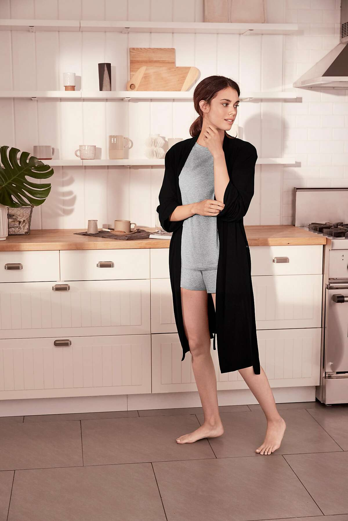Originally focusing on comfortable bras, ThirdLove launched a lounge category in October last year, offering soft pants and shirt sets in black, pink and gray, and adding a wireless Lounge Bra to the mix.