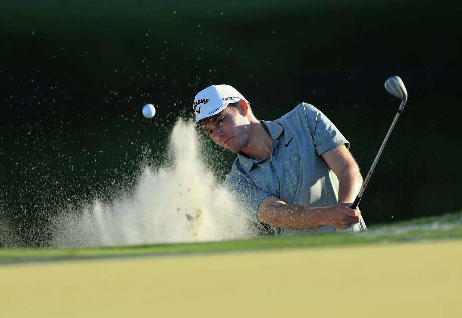 ORLANDO, FL - MARCH 15: Aaron Wise plays his shot out of the bunker during the first round at the Arnold Palmer Invitational Presented By MasterCard at Bay Hill Club and Lodge on March 15, 2018 in Orlando, Florida.  (Photo by Sam Greenwood/Getty Images) Photo: Sam Greenwood / 2018 Getty Images