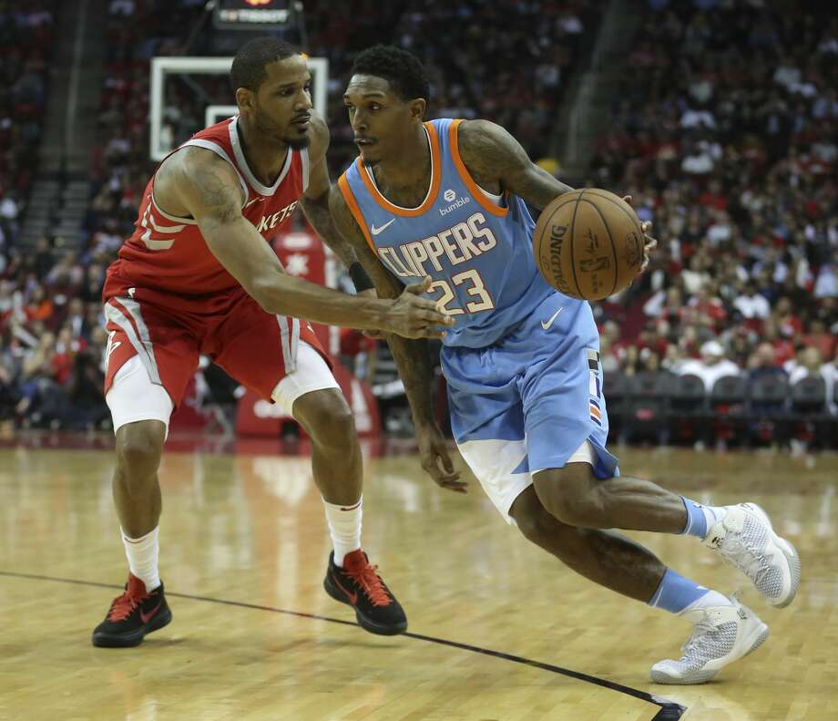 This may be the year for Lou Williams, now with the Clippers, to get the Sixth Man award. Photo: Yi-Chin Lee/Houston Chronicle
