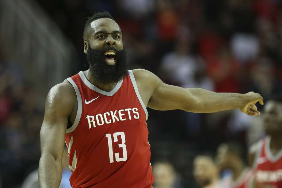 Rockets star James Harden has left little room for debate about this year's NBA MVP front-runner. Photo: Yi-Chin Lee/Houston Chronicle