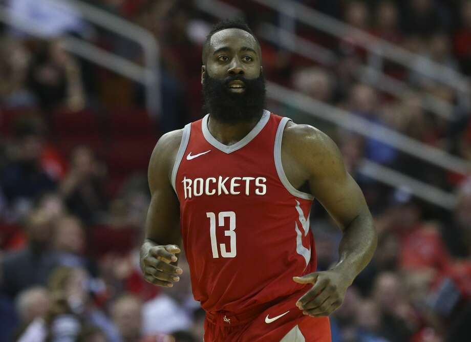 Houston Rockets guard James Harden (13) during the fourth quarter of the NBA game at Toyota Center on Thursday, March 15, 2018, in Houston. The Houston Rockets defeated the LA Clippers 101-96. ( Yi-Chin Lee / Houston Chronicle ) Photo: Yi-Chin Lee/Houston Chronicle
