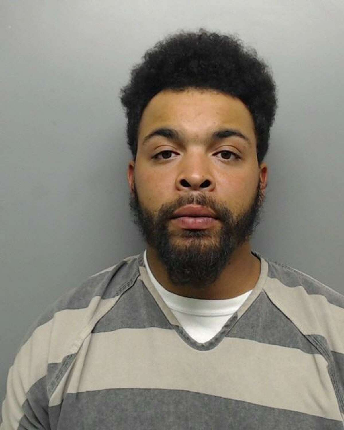 Diandre Jamall Shelton, 25, was charged with aggravated assault with a firearm.