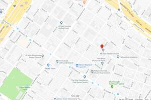 FILE - A screenshot of a Google Maps image of Hadley Street in Houston, Texas. Friday, Metro officials reported its train had collided with someone in the area.