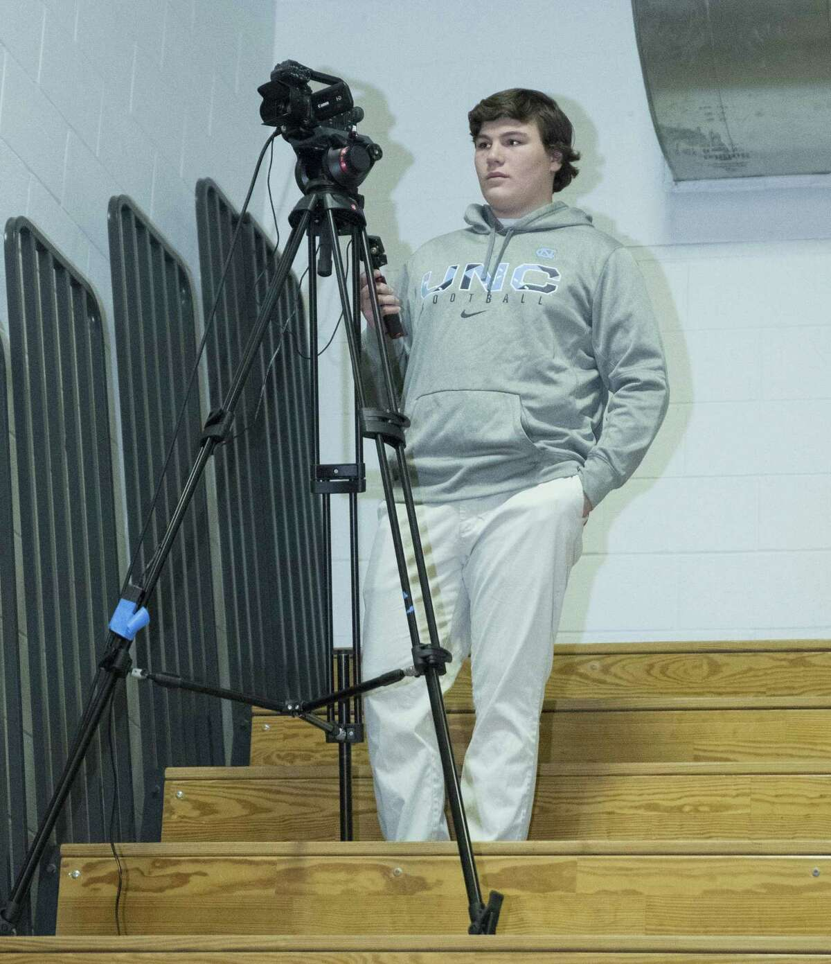 Students volunteer for DAF Media at games and local events.