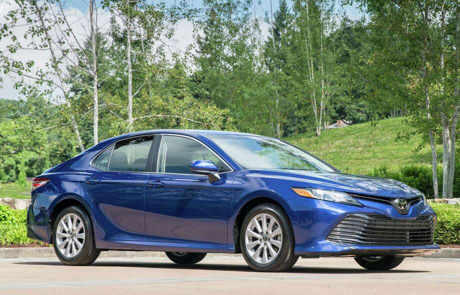 The redesigned 2018 Toyota Camry provides a high-quality comfortable and stable ride manner with superior handling characteristics using a lightweight, high-rigidity body/platform structure with a 30-percent increase in torsional rigidity. Photo: Toyota / Copyright 2017 dewhurstphoto