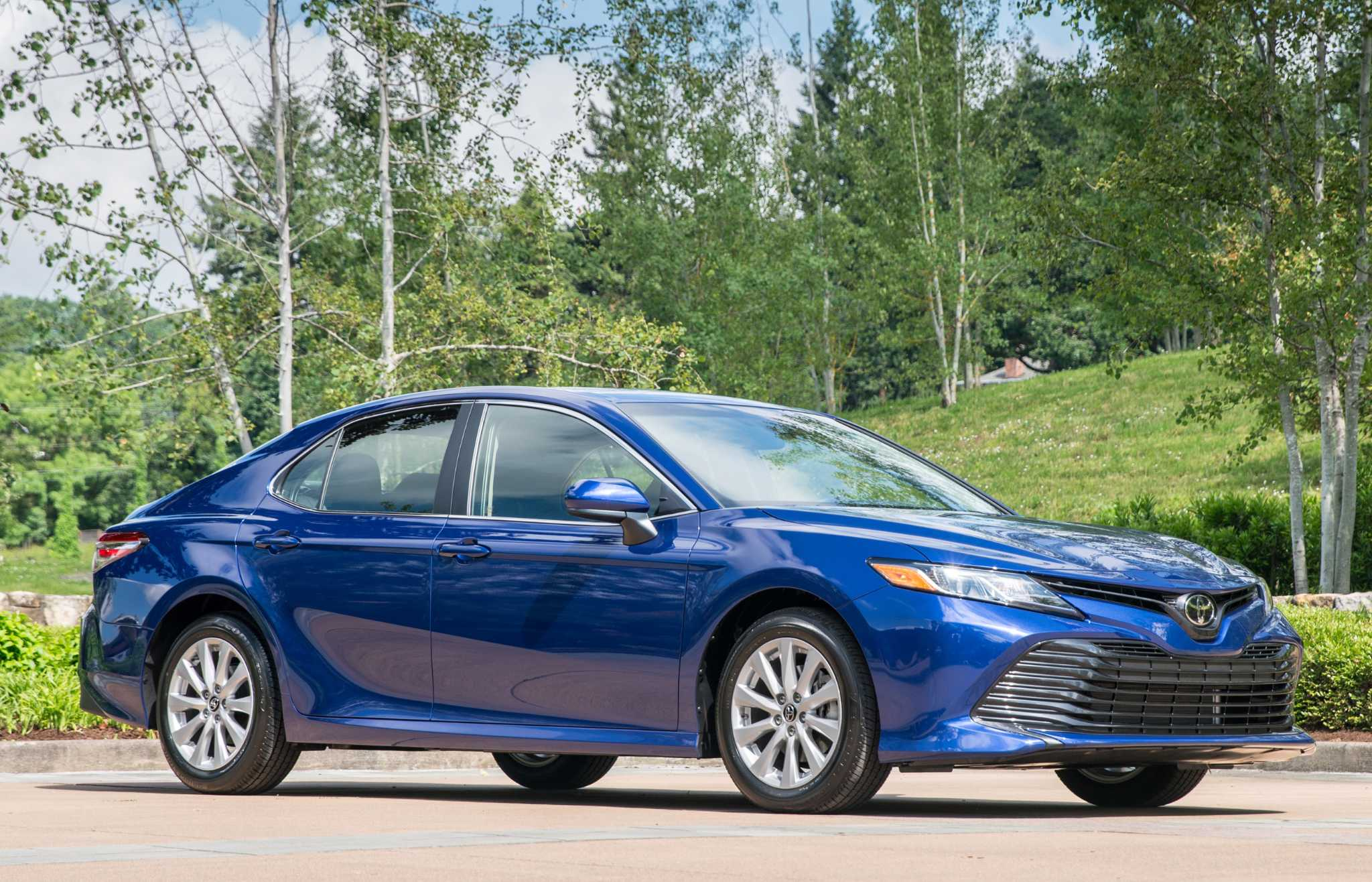 Stylishly redesigned Toyota Camry has lots of new technology, features