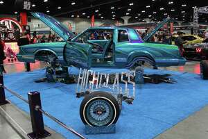 This Wicked Mindz Cutlass High Class Car Club was one of the custom cars shown during the 2018 DUB car show in Los Angeles, California.