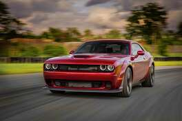 In testing on a 1.7-mile track, Dodge says that the up-tired Widebody Hellcat had lap times about two seconds quicker than the standard Hellcat — or about 13 car lengths after one lap.