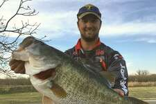 For the first time in more than 28 years, angler Austin Terry of San Angelo caught a 13.4 pound largemouth bass March 14 in Twin Buttes Reservoir.