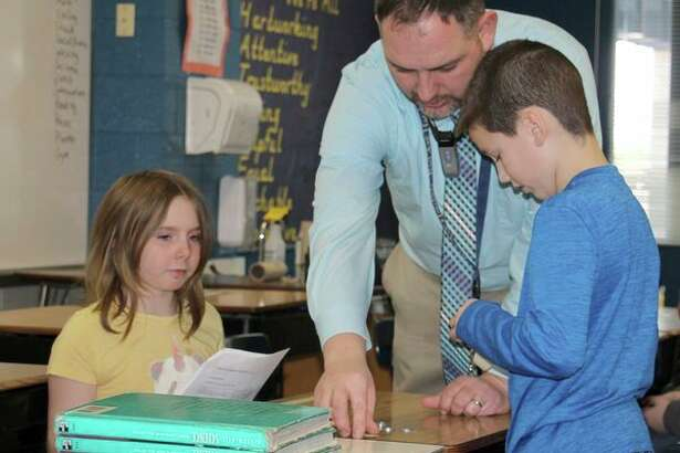 Brad Roth is a third grade teacher at Bad Axe Elementary. He made a career switch from construction to education after he started working with kids through various bible schools with his church. (Bradley Massman/Huron Daily Tribune)