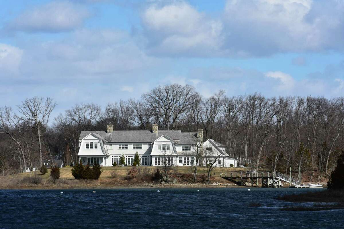 The house at 20 Juniper Road in Darien, Conn., which was listed for sale in March 2018 at $14.3 million, vaulting it into the 10 most expensive listings in Connecticut.