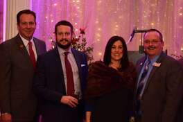 The Greater Capital Association of Realtors, a trade association of 3,000 professionals in real estate and related industries, recently inducted officers for 2018. From left to right, Director Jeffrey Decatur with RE/MAX Capital, President-Elect Jason Christiana (Berkshire Hathaway HomeServices Blake), President Susan Lynne Sommers (Better Homes and Gardens Real Estate Tech Valley), and Treasurer Thomas J. McGroder (Thomas J. Real Estate). (Photo provided)